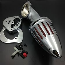 X. Chrome Air Cleaner Kits Intake For Kawasaki Vulcan 1500 1600 2000-2012