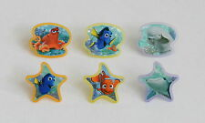 12 Disney Finding Dory Cup Cake Rings Topper Party Goody Bag Filler Favor Supply