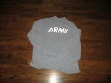 tshirt,us army pt shirt,new,wicking&odor control, xl long sleeve,sofee