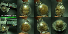 OLD FACE BUDDHA EMBED GOLDEN TAKRUT LP TIM Real THAI AMULET PROGRESSIVE OF LIFE