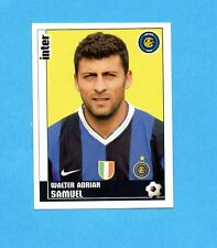 PANINI CALCIATORI 2006-2007- Figurina n.164- SAMUEL - INTER -NEW