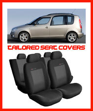 Tailored Fundas De Asiento Para Skoda Fabia Set Completo - 3
