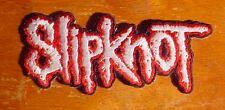 Unused Slipknot Rock Band Patch 4'' by 1 ½'' Inch