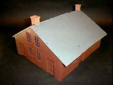 PLAYSETS 54mm American Civil War House (Brown) (Bagged) (Americana) PYS98537