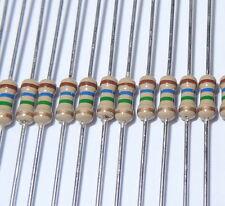 15 pcs 200  ohm 1/4W 5% Carbon Film Resistors. (ask me for other quantities).