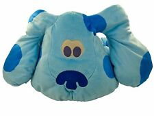 Blues Clues Plush Dog Big Hugs Blue Fisher Price Mattel Sounds Talks Large