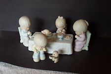 Precious Moments We Gather Together Thanksgiving 6pc Porcelain Figurine Set