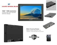 "LILLIPUT 7"" Q7  Full HD on-Camera Metal Slim SDI /HDMI cross conversion+ V mount"