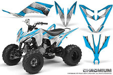 YAMAHA RAPTOR 250 GRAPHICS KIT CREATORX DECALS STICKERS CHROMIUM BLI