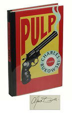 Pulp by CHARLES BUKOWSKI ~ SIGNED First Edition 1994 ~ Black Sparrow Press 1st