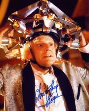 Christopher Lloyd - Doc Brown - Back to the Future - Signed Autograph REPRINT