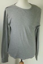 Mambo Australia men's L gray pullover mesh like Henley L/S Shirt comfort relax