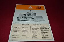Allis Chalmers HD-21 Series B Crawler Tractor Dealer's Brochure YABE11 ver69