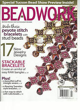 BEAD WORK, INSPIRED DESIGNS FOR THE PASSIONATE BEADER, DECEMBER/ JANUARY, 2014