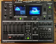 Roland  VR-5 Audio & Visual Mixer Recorder and streamer