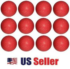 """(LOT OF 12X) 10"""" Dodge Balls Rubber Playground Kick Balls Official Size"""