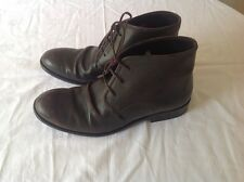 Mens Fly London Watt Brown Vintage Distress Lace Up Leather Ankle Boot Uk Size