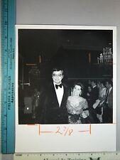 Rare Original VTG Nancy Sinatra Sr & Producer Ross Hunter Golden Globes Photo