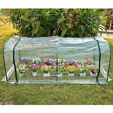 Outdoor New Mini 7'x3'x3' Portable Plant Flower Gardening Greenhouse Hot House