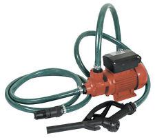 Pompe pour le transfert du gasoil 370W avec pistolet et tuyau