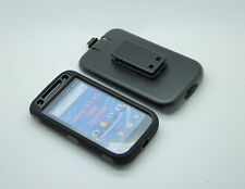 SAMSUNG GALAXY S II 2 T989 Built-in Screen Protector Defender Case Cover - Black
