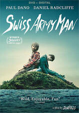 Swiss Army Man [DVD + Digital],Excellent DVD, Mary Elizabeth Winstead, Paul Dano