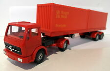 Corgi Major Vintage diecast - TRK9 Mercedes Truck + Container trailer Royal mail