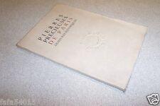 PIERRES PRECIEUSES DE PARIS DEMEURENT HISTORIQUES VILLEFOSSE 1945