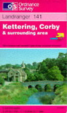 Kettering, Corby and Surrounding Area (Landranger Maps),GOOD Book
