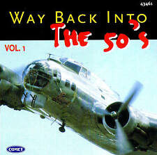 "WAY RÉTRO INTO THE Années 50 ""Vol. 1"" Top Oldies! CD 16 Titres"