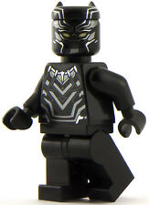 GENUINE Lego Marvel Super Heroes Black Panther Minifigure CMF Mini Figure 76047
