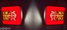2 LED Rear Tail Lights Lamp e-mark for Truck IVECO DAF SCANIA MAN VOLVO MERCEDES