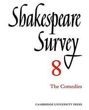 Shakespeare Survey: Volume 8, , Very Good condition, Book