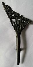 """Highland Piper Kilt Pin Sword Black Finish 4""""/Bagpipe Piper Kilt Pins/Scottish"""