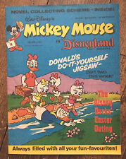 WALT DISNEY'S MICKEY MOUSE IN DISNEYLAND COMIC 16 APRIL 1977. VFN. EXCELLENT (1