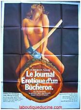 LE JOURNAL INTIME D'UN BUCHERON Affiche Cinéma Originale / French Movie Poster