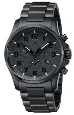 Luminox 1942.BOB Gent's Chrono Black Dial Black Steel Alarm Watch
