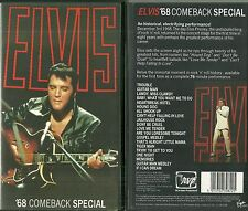 RARE / K7 VIDEO - ELVIS PRESLEY : 68 COMEBACK SPECIAL / COMME NEUF - LIKE NEW