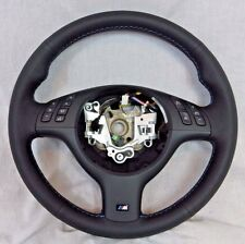 BMW OEM Genuine M Sport E46 M3 E39 M5 2001-03 Tri-Color Steering Wheel NEW