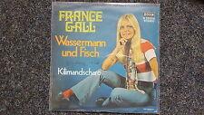 France Gall - Wassermann und Fisch/ Kilimandscharo 7'' Single SUNG IN GERMAN