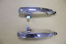 2 Pcs Outside Door Handle Rear LH , RH Chrome for Chrysler 300 C 05-10