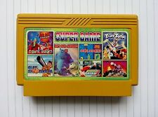 6 in 1 games( SOCCER , SUPER MARIO , TRACK AND FIELD etc)- Famicom Nes Cartridge