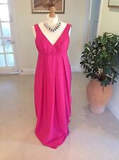 """Ladies Size 14 Dark Pink Evening Dress By """"Light In The Box""""."""