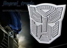 Transformers Autobot 3D Chromed Metal Thick Car Auto Emblem Badge Decal Sticker