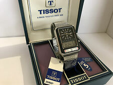 Tissot Formula1 TS/X2 Dual Time Chrono Alarm Swiss Made  Quartz LCD LED