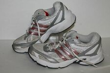 Adidas Vanquish 3 Running Shoes, #G09407, White/Red/Silver, Women's US 6.5