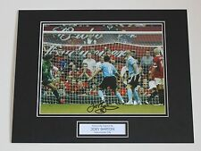 Joey Barton In Manchester City Shirt HAND SIGNED Autograph Photo Mount COA Proof
