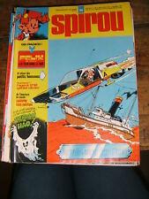 Spirou N° 1954 Aymone Sybilline BD 1975 Tif Tondu Sophie Sammy Oncle paul