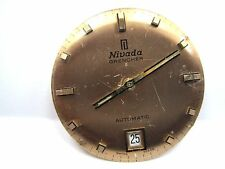Antique Nivada Auto /Date Watch Movement 17 jewels 25 mm. # 2622