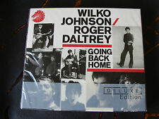 Slip Double: Wilko Johnson / Roger Daltrey : Going Back Home Deluxe 2CDs Sealed